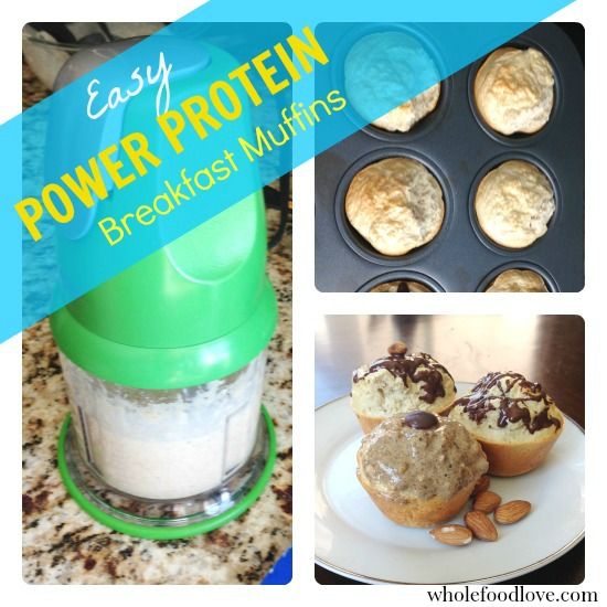 WFL Easy Power Protein Breakfast Muffins Collage