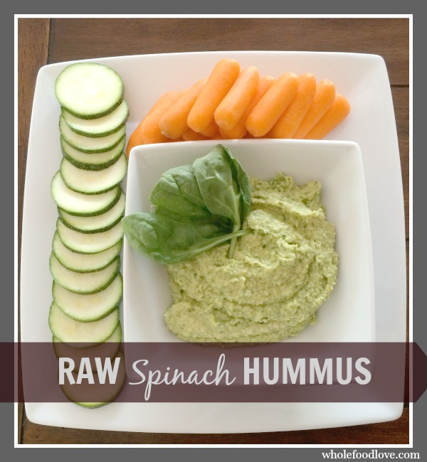 WFL Raw Spinach Hummus 6