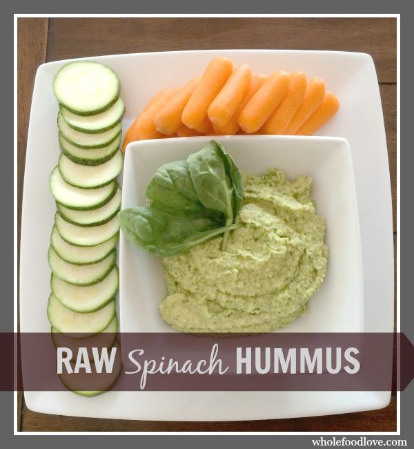 WFL Raw Spinach Hummus 6