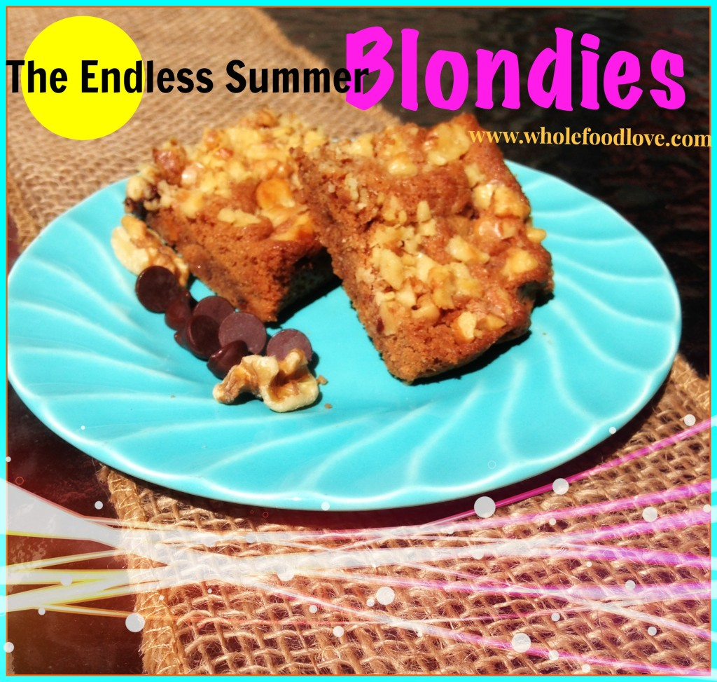 WFL The Endless Summer Blondies burlap