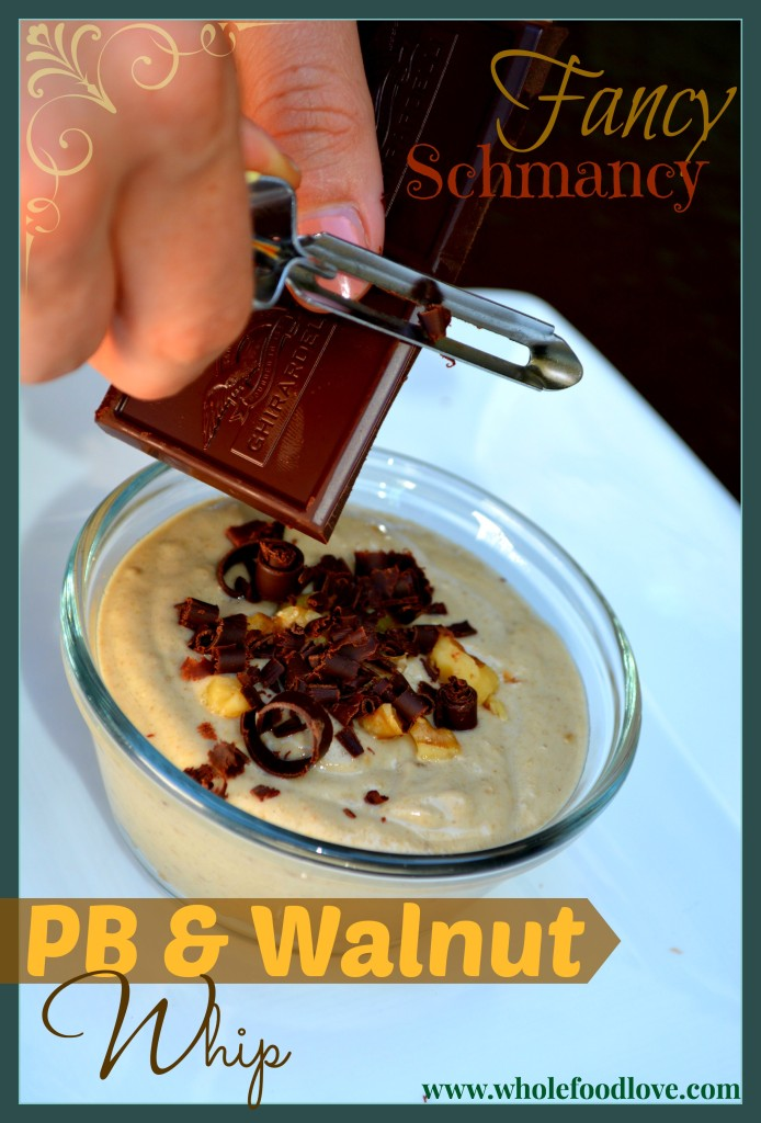 Fancy Sch PB Walnut Whip shave choc