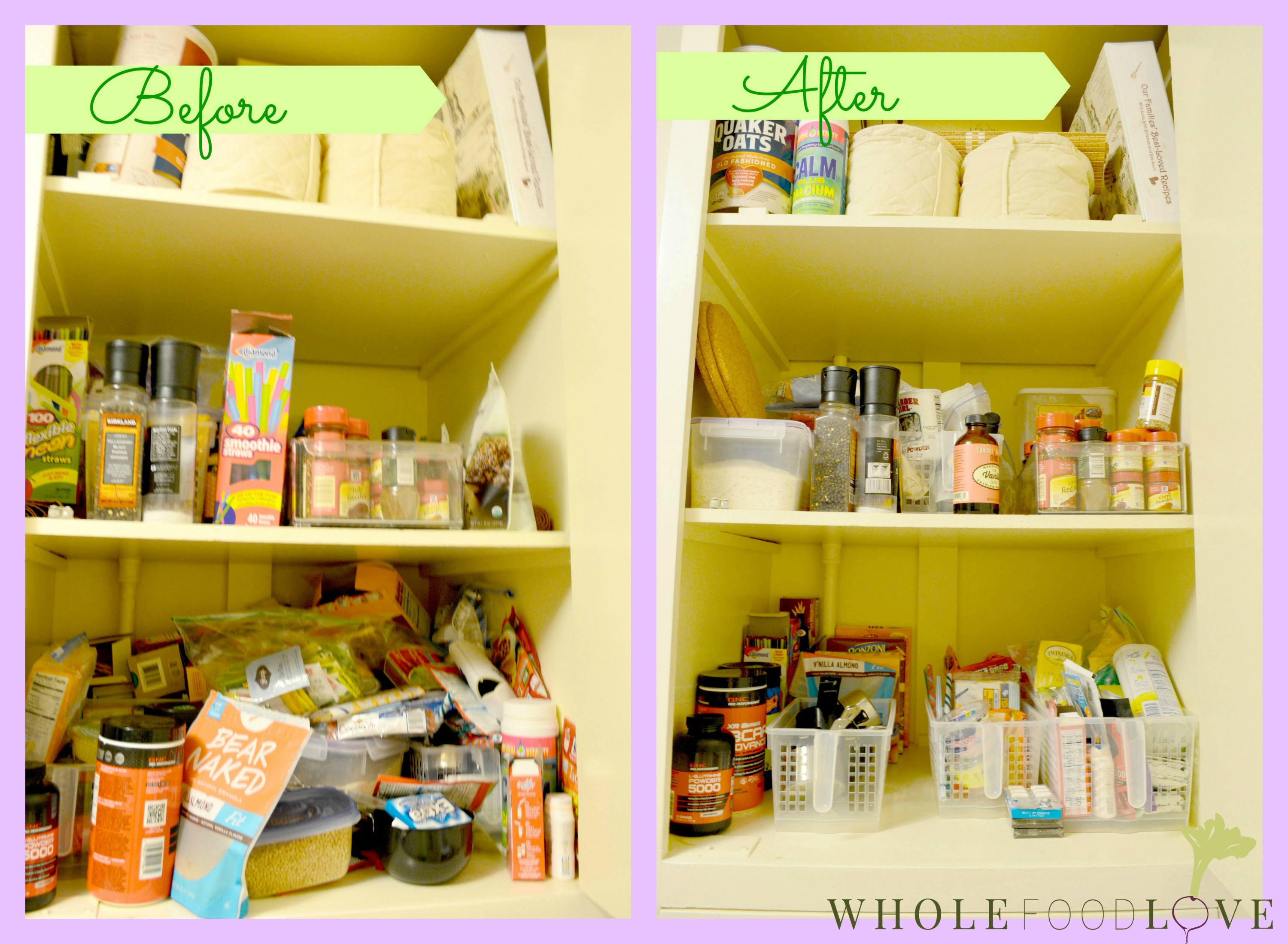 WFL Cabinet Before + After