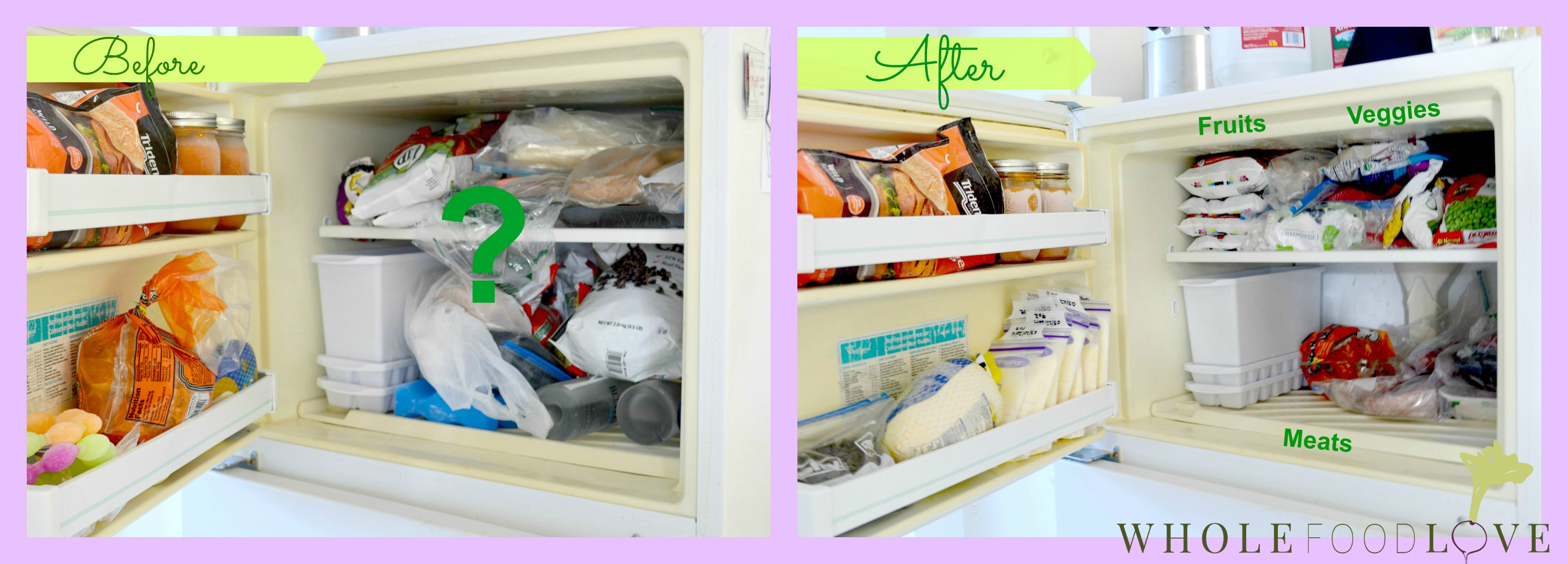 WFL Freezer Before & After