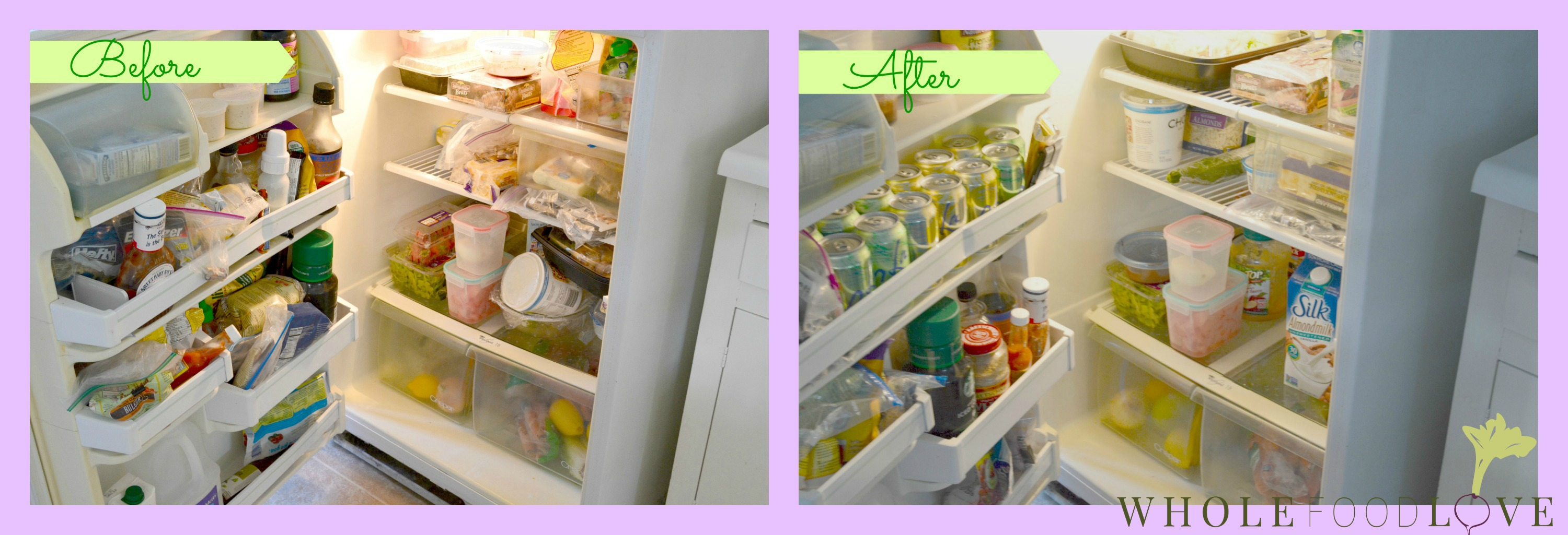 WFL Refrigerator Before + After