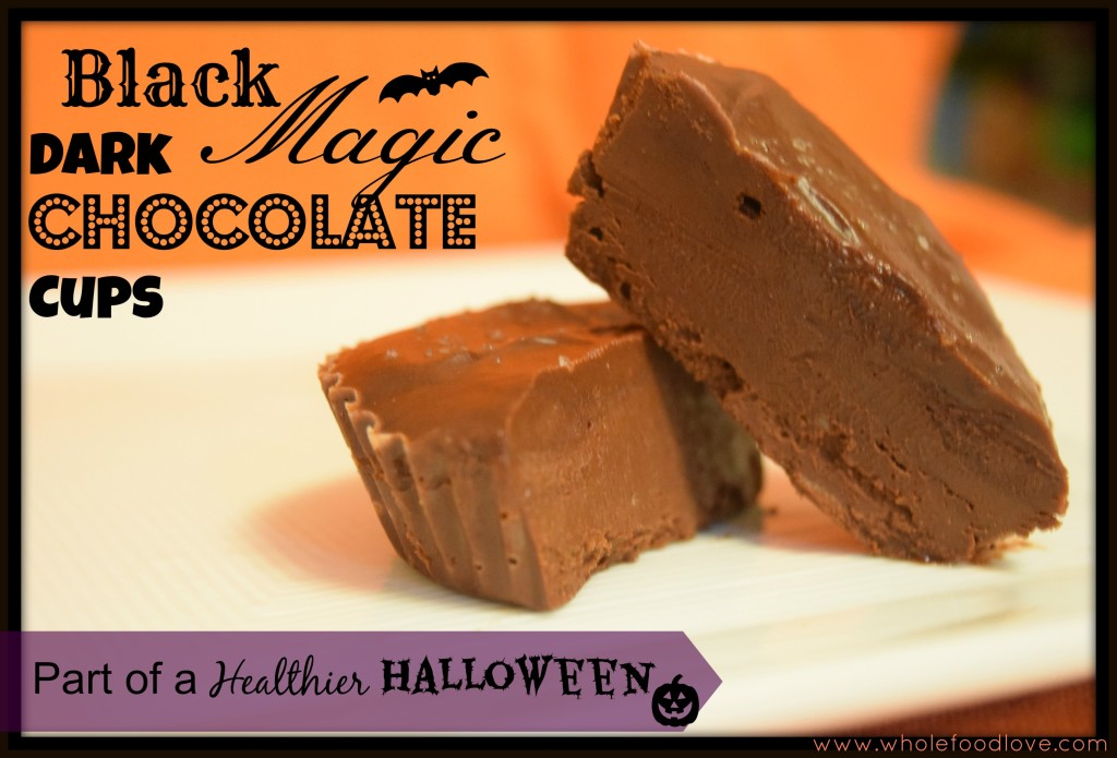 Black Magic Dark Choc Cups