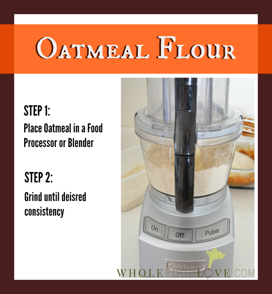 WFL Oatmeal Flour for Pumpkin Bars