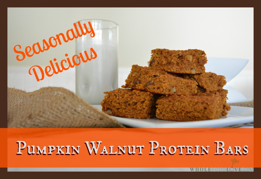 WFL Pumpkin Walnut Protein Bars 2